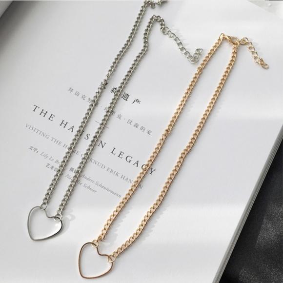 CHICKSDESIRE Jewelry - C'ESTE LEA GOLD & SILVER KARMA LOVE NECKLACES